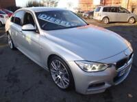 64 BMW 318D M SPORT DIESEL *SATNAV*HEATED LEATHER*SENSORS* £30 ROADTAX
