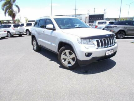 2011 Jeep Grand Cherokee WK MY2012 Laredo Bright Silver 5 Speed Sports Automatic Wagon Mackay Mackay City Preview
