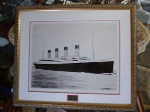 RMS Titanic Limied Edition Photo