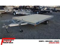 2015 Mission MATV 84X14 2 place ATV trailer
