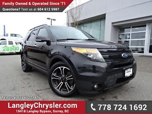 2013 Ford Explorer Sport W/ NAVIGATION, LEATHER & MOON-ROOF