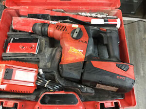 CORDLESS HILTI TE30 A36 DRILL IMPACT WITH CHARGER We are located