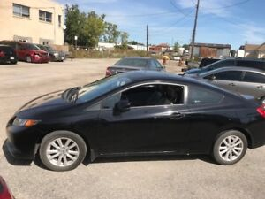 2012 HONDA CIVIC - 2 Door Coupe EX-L COUPE 5-SPD AT