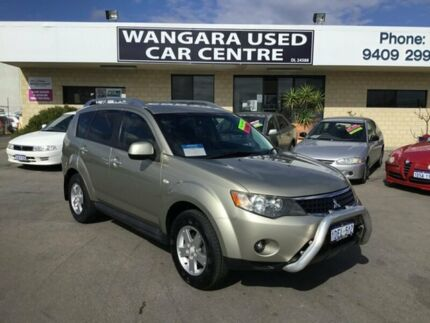 2009 Mitsubishi Outlander ZG MY09 Activ (5 Seat) Olivine 6 Speed CVT Auto Sequential Wagon Wangara Wanneroo Area Preview