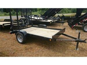 2016 NEW 5X8 UTILITY FLATBED TRAILER