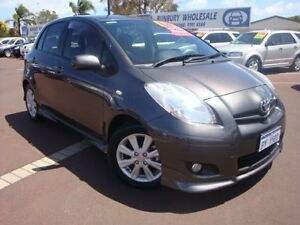 2009 Toyota Yaris NCP91R MY10 YRX Grey 5 Speed Manual Hatchback Bunbury Bunbury Area Preview