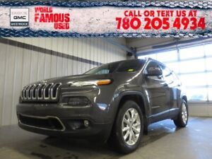 2016 Jeep Cherokee Limited. Text 780-205-4934 for more informati