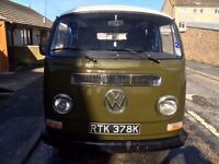 1972 VW T2 Bay Window Camper Van