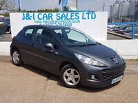 PEUGEOT 207 1.4 MILLESIM 3d 74 BHP A GREAT EXAMPLE INSIDE AND (grey) 2010
