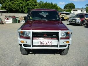 1993 Mitsubishi Pajero NJ GLS Maroon Automatic Wagon Rosslea Townsville City Preview