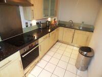 A modern three bedroom two bathroom apartment in Artichoke Hill development in Wapping