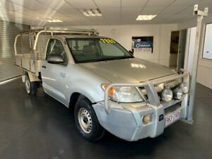 2005 Toyota Hilux RZN149R Workmate Silver 5 Speed Manual Cab Chassis North Toowoomba Toowoomba City Preview