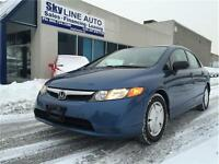 2008 HONDA CIVIC DX-G**ALLOY WHEELS,CERTIFIED,WARRANTY**