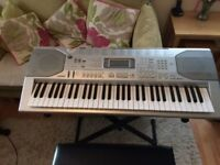 Casio CTK-800 61 Key Portable Keyboard, Stand and Stool