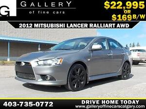 2012 Mitsubishi Lancer Ralliart $169 b/w APPLY NOW DRIVE NOW