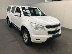 2016 Holden Colorado RG MY16 LS CREW CAB White Manual Dual Cab Utility Moonah Glenorchy Area Preview