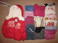 Girls clothes bundle 2-4 years