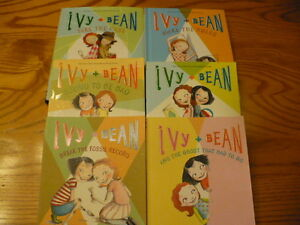 Lot of Ivy and Bean Novels Books 1-5 and 9-10