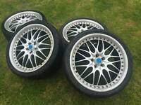 Alloy konig rims and original Pirelli tyres worth £1200 - OPEN TO OFFERS