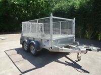 Ifor Williams GD85 MK3 Caged Trailer 2016
