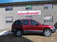 2002 Hyundai Santa Fe GL-new price- low monthly payments