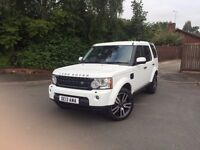 2013 Land Rover Discovery 4 3.0 litre Auto (255 bhp) 5 door Commercial Full company tax relief!