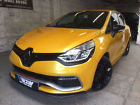 Renault Clio 1.6 (200ps) EDC Auto 2014/14 Renaultsport 200 Lux LIQUID YELLOW 55K