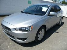 2008 Mitsubishi Lancer CJ MY09 ES Silver 6 Speed CVT Auto Sequential Sedan Nowra Nowra-Bomaderry Preview