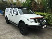 2014 Nissan Navara D40 MY12 ST-X 550 (4x4) White 7 Speed Automatic Dual Cab Utility Bowen Hills Brisbane North East Preview