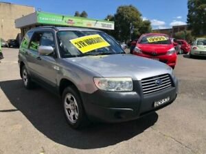 2007 Subaru Forester 79V MY07 X AWD Silver 4 Speed Automatic Wagon Lidcombe Auburn Area Preview