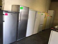 fridges, freezers, fridge freezers.