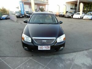 2007 Kia Cerato LD Black 4 Speed Automatic Hatchback Coorparoo Brisbane South East Preview