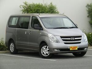 2013 Hyundai iMAX TQ-W MY13 Silver 5 Speed Automatic Wagon Melrose Park Mitcham Area Preview