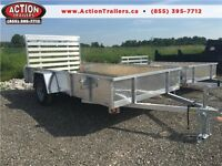 Light weight all aluminum 7 x 12 utility trailer - 2016 NEW