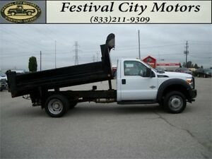 2014 Ford Super Duty F-550 DRW XL | 12' Dump | DIESEL