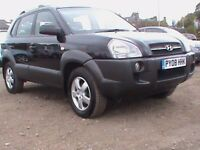 HYUNDIA TUCSON 2.0 GSI 4X4 5 DR BLACK MOT 30/06/2018 CLICK ON VIDEO LINK FOR MORE DETAILS ON THE CAR