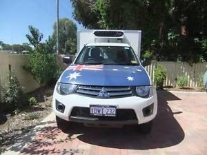 2010 Mitsubishi Triton Refrigerated Ute Beeliar Cockburn Area Preview