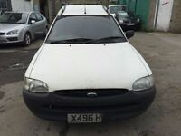 Cheap van of the day 2001 Ford Escort, starts and drives but not quite right, being sold as spares o