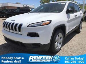 2017 Jeep Cherokee FWD 4dr Sport
