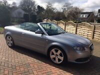 Audi A4 S-Line 2.0TDI convertible PX