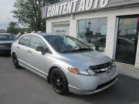 2007 Honda Berline Civic DX-G1.2 3 CHANCE AU CREDIT 5VIT T EQUIP
