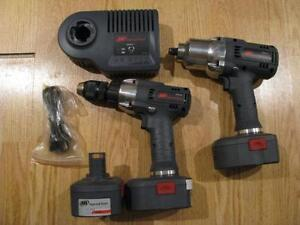 Ingersoll Rand 19.2 Lithium Impact 1/2 Dr. + Perceuse 1/2