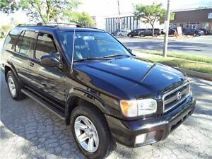 2003 Nissan Pathfinder LE LEATHER TOP OF THE LINE NEW TIRES