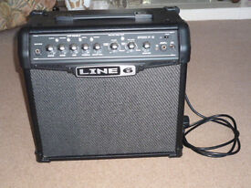 Line 6 Spider IV 15 Combo Guitar Practice Amp Amplifier. Modelling & Effects. Fantastic Condition.