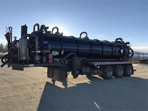 2014 VIP 160bbl Tri Axle Semi Vac Trailer - Financing Available!