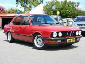 1987 BMW 520e Luxe *** MANUAL ** LOW KMS *** AMAZING PAINT *** ALL ORIGINAL DOCUMENTS Victoria Park Victoria Park Area Preview