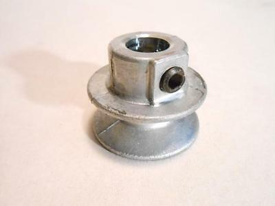 1 12 V Belt Pulley Zinc Die Cast 1.5 Dia Bore Sizes 38 Or 12