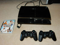Playstation 3 - With 2 Games