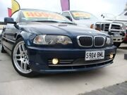 2001 BMW 330CI E46 Steptronic Blue 5 Speed Sports Automatic Convertible Enfield Port Adelaide Area Preview