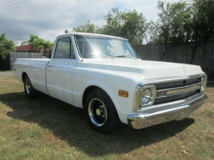 1969 Chevrolet C10 White Automatic Pick Up Ute 2WD